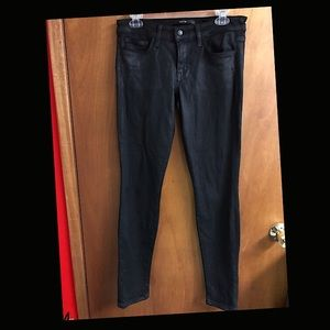 Black Joe's Coated 'The Skinny' Jeans, sz 29